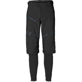 VAUDE Virt II Pantalones Softshell Hombre, black